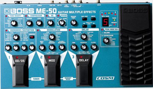boss me 50 multi efectos para guitarra rh boss info Guitar Processor Boss Me 50 Guitar Processor Boss Me 50